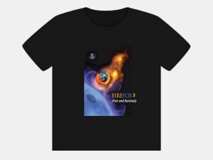 Tee Shirt design for FireFox competition
