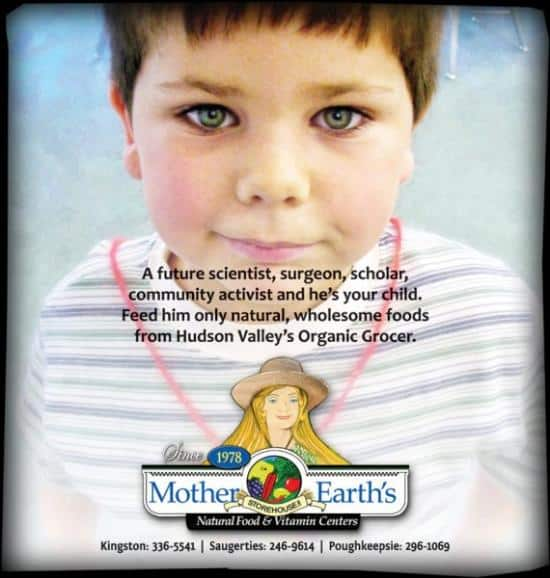 back to school newspaper ad design for proper nutrition