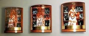 University of Tennessee Lady Vols Display Design