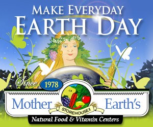 Healthfood Store Earth Day Banner Ad Design