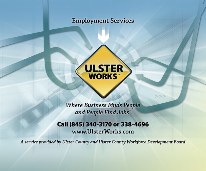 Re-branding of Ulster County Workforce Development Board - Banner Design