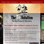 Wedding planner website design built on WordPress