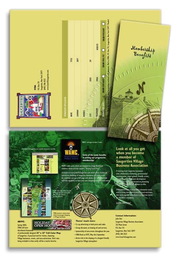 Brochure design for Chamber Of Commerce