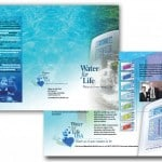 Water Filtration Tri-Fold Brochure Design