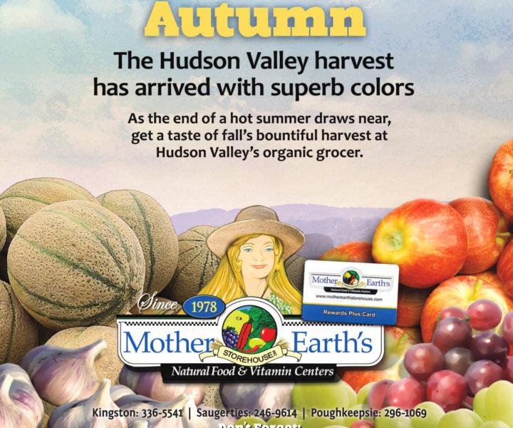 Newspaper ad design for Hudson Valley Magazine
