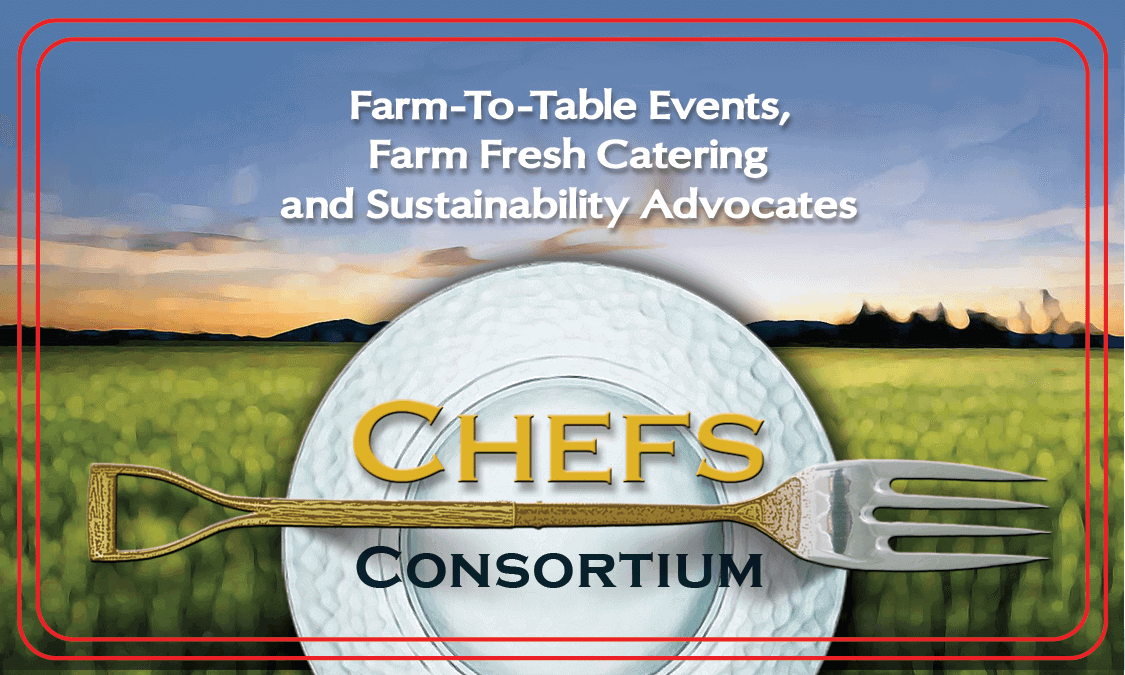 Business card design for New York chefs advocating farm-to-table.