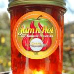 Label Design for Jam'n Hot All-Natural Perserves