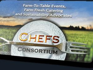 business card design for chefs consortium