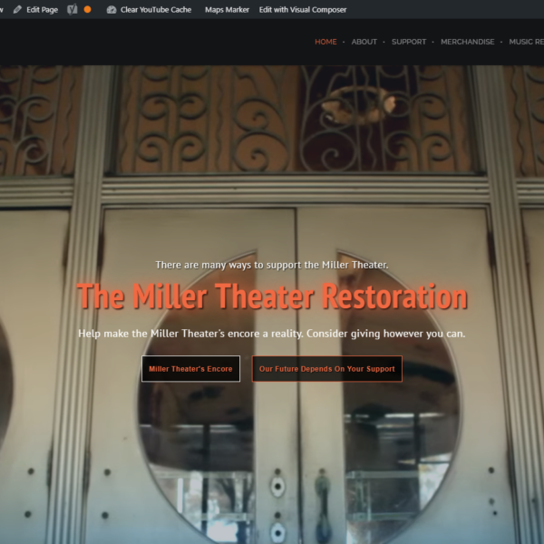 Miller Theater Restoration, Augusta Georgia