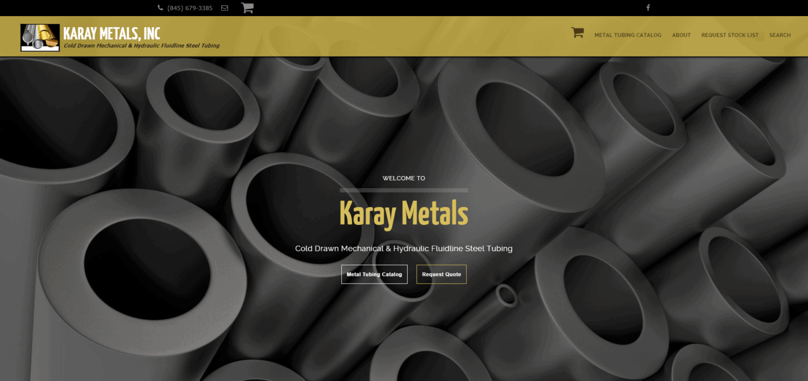 Second generation metals supplier gets a WordPress, Woocommerce powered SEO optimized website.