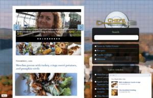 Chefs Consortium Website design